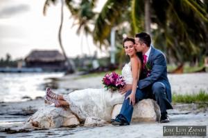 Coco Beach Resort Belize Wedding, Beach Weddings, San Pedro Ambergris Caye, Photographer Jose Luis Zapata Photography.