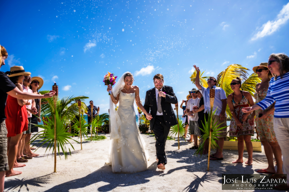 Trash the Vera Wang | Trash the Dress | Turneffe Island Wedding Belize | Wedding Photographer