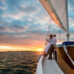 Destination Wedding Photography | Sunset Sailing Wedding | Ambergris Caye, Belize Photographer