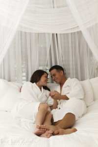 Honeymoon Photo Shoot, Victoria House Resort, Ambergris Caye, Belize Photographer Jose Luis Zapata Photography