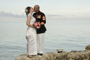 Romance, Belize Wedding Photography, Ambergris Caye Belize.