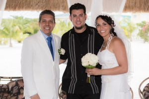 Documented the wedding of Venezuelan Ambassador at the Royal Palm Private Island Resort. Destination Wedding Photographer. Belize Photographers.
