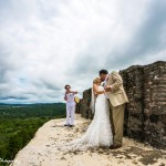 Xunantunich Maya Ruin Wedding | First Dance | Belize Wedding Photographer | Mayan Belize Weddings