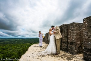 Xunantunich Maya Ruin Wedding | First Dance | Belize Wedding Photographer | Mayan Belize Weddings