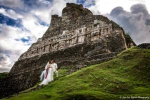 Maya Ruin Wedding, Xunantunich Maya Site | Destination Wedding Photography | Belize Photographer