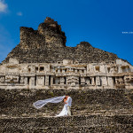 Xunantunich Mayan Ruins Wedding , San Jose, Succotz, Belize - Destination Belize Weddings