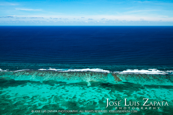 San Pedro Ambergris Caye Belize. The Great Barrier Reef. We have the largest living Barrier Reef in the world.  © 2011 Jose Luis Zapata Photography.