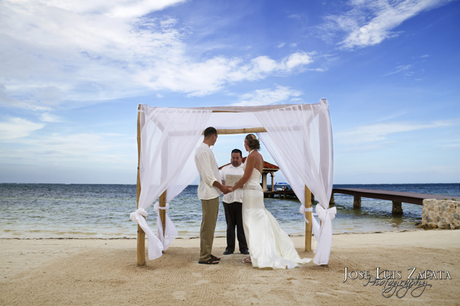 Coco Beach Wedding| Ambergris Caye, Belize Photographer