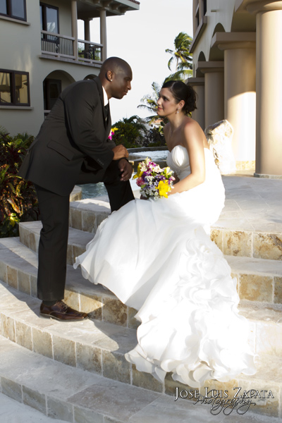 Luxury Coco Beach Resort Elopement, Ambergris Caye, Belize