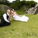 Mayan Ruin Wedding Belize - Maya Ruin Wedding at Xunantunich Archaeological Site.