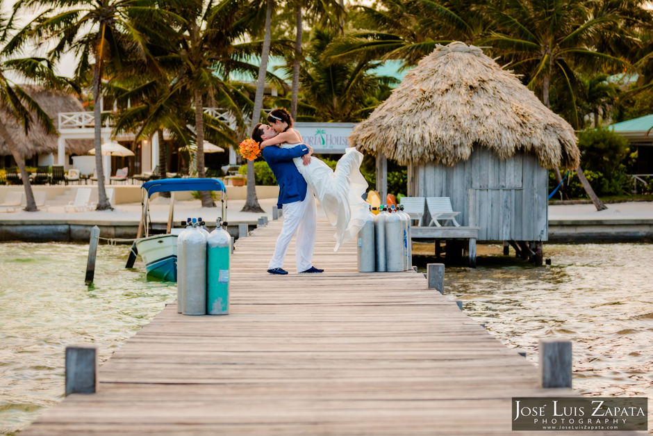 Victoria House Luxury Hotel Resort, Destination Wedding, Ambergris Caye Belize with Jose Luis Zapata Photography and Belize wedding planner romantictravelbelize.com