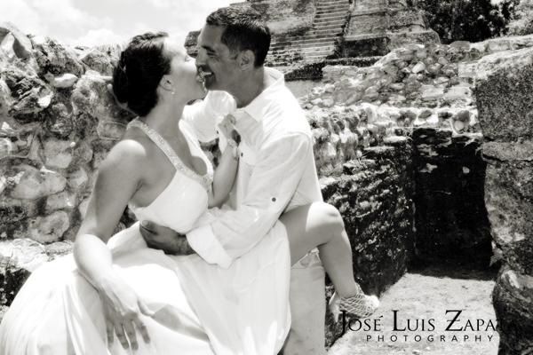 Destination Wedding Photography | Maya Reef Wedding | Mayan Ruin Wedding | Jose Luis Zapata Belize Photographer (7)