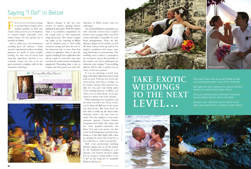 Destination Belize 2012