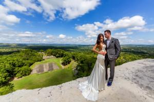 Xunantunich Mayan Ruin Wedding Belize Photographer