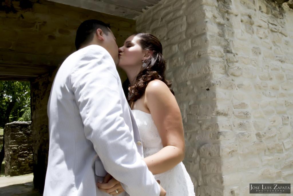 Cahal Pech Mayan Ruin Wedding - Mayan Weddings - San Ignacio, Cayo, Belize
