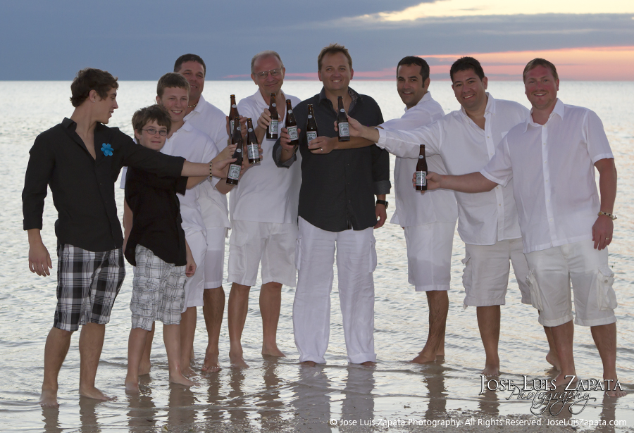 Jose Luis Zapata Photography - Belize Photographer - Sand Bar Wedding