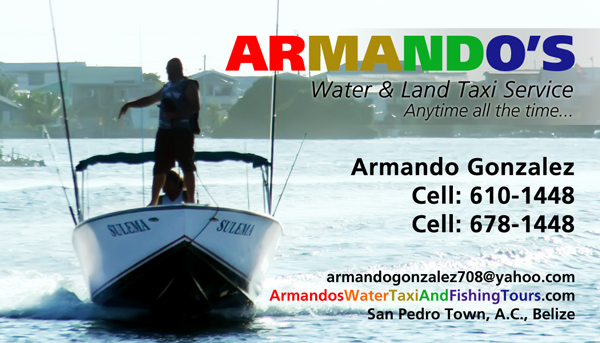 Armando Gonzalez's Water Taxi, Fishing and Mainland Tours