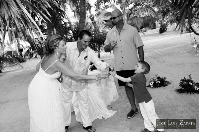 Private Island Weddings in Belize. Cayo Espanto Island Resort. Jose Luis Zapata Photography.