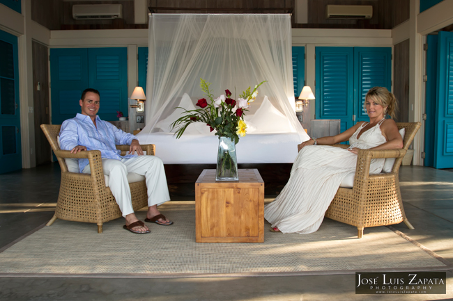 Private Island Wedding in Belize. Cayo Espanto Island Resort. Jose Luis Zapata Photography.