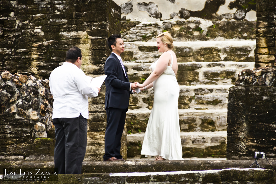 Mayan Ruin Wedding Belize - Altun Ha Maya Ruin, Mayan Weddings, Belize Photographer