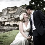 Maya Ruin Wedding | Altun Ha Maya Site | Destination Wedding Photography in Belize