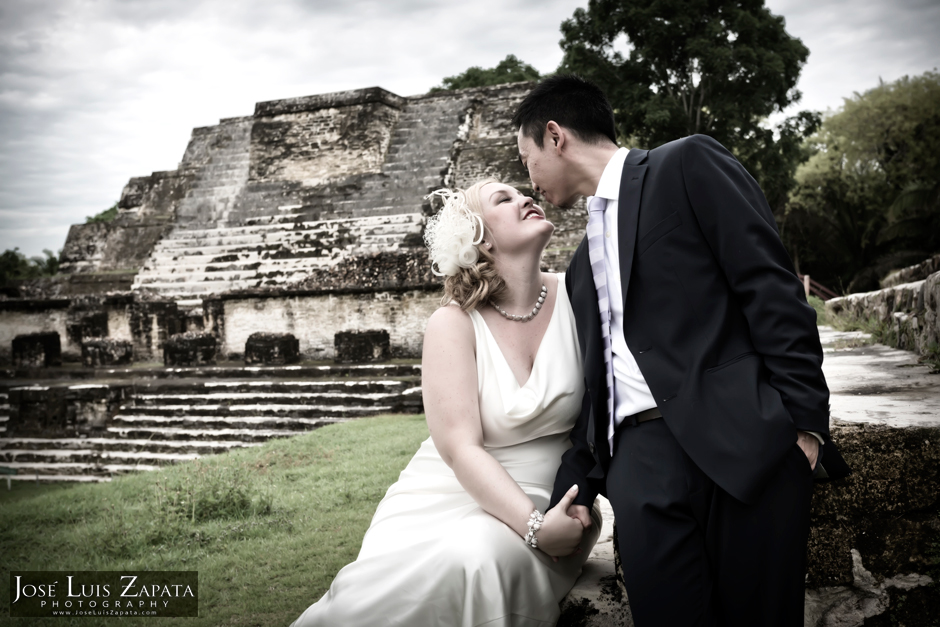 Belize Wedding Photographer | Maya Ruin Wedding | Altun Ha Maya Site | Destination Wedding Photography in Belize | Artistic Photojournalism