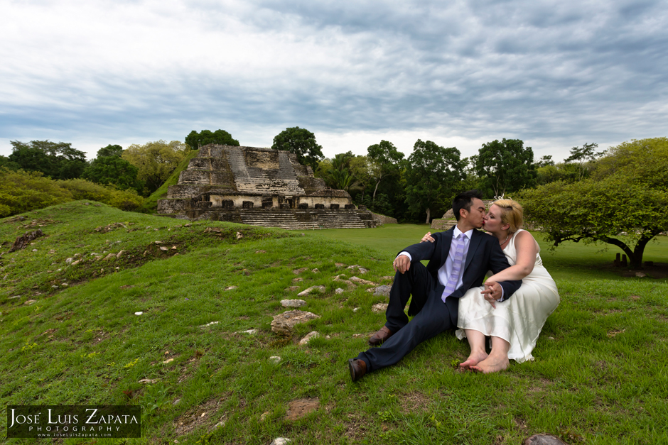 Maya Ruin Wedding Belize - Altun Ha Maya Ruin, Mayan Weddings, Belize Photographer