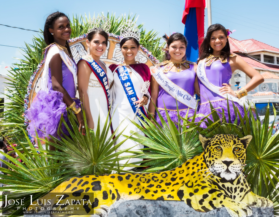 Miss San Pedro,  Naiely Odalis Puc, 10th of September Celebrations, Ambergris Caye, Belize Photographer