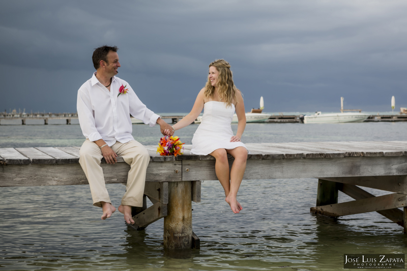 Destination Beach Wedding Mata Chica Resort Ambergris Caye San Pedro Belize Photographer (26)