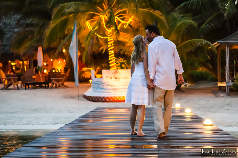 Destination Beach Wedding Mata Chica Resort Ambergris Caye San Pedro Belize Photographer