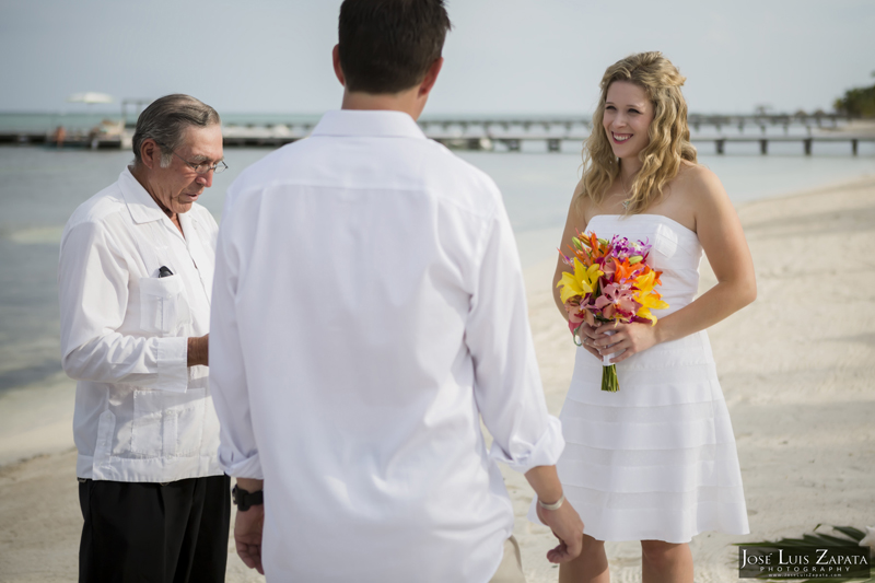 Destination Beach Wedding Mata Chica Resort Ambergris Caye San Pedro Belize Photographer (6)