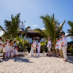 Mahahual, Mexico Destination Wedding Ceremony, International Destination Wedding Photography, Jose Luis Zapata, Belize Photographer