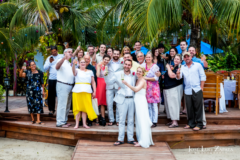 Placencia Wedding - Placencia Luxury Belize Wedding | Chabil Mar Boutique Resort | Jose Luis Zapata Photography
