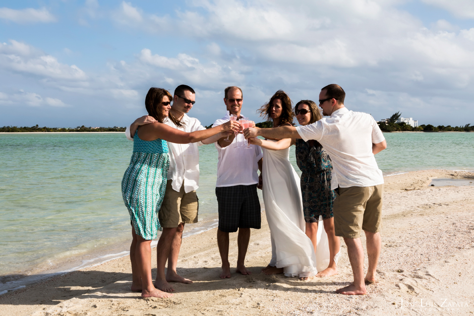 Sandbar Wedding | Intimate Island Weddings