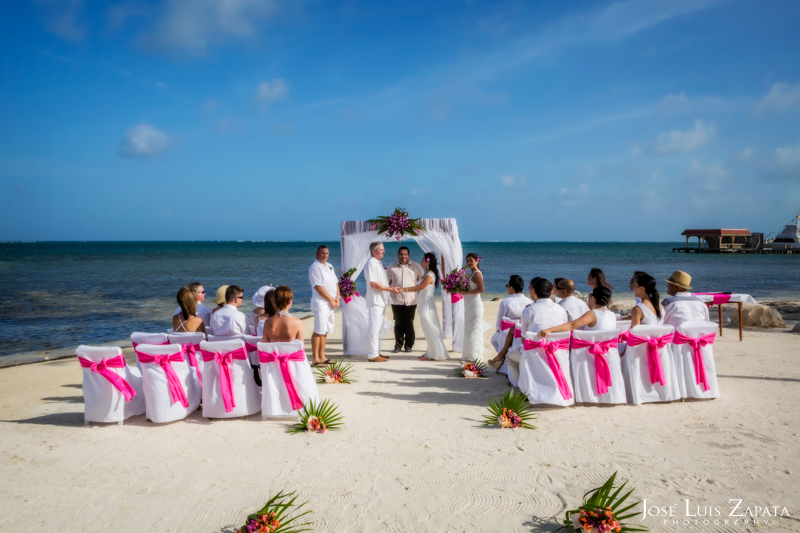 Destination Wedding Ambergris Caye Belize