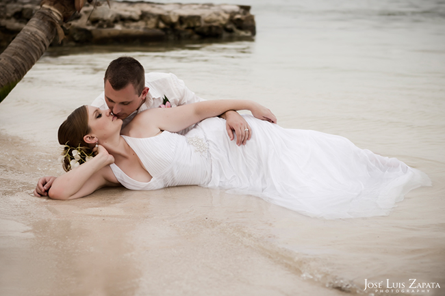Trash the Dress Destination Wedding at Xanadu Island Resort, San Pedro Belize, Ambergris Caye Photographer