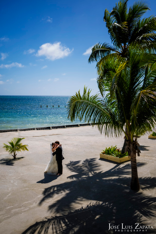 Trash the Vera Wang | Trash the Dress at Turneffe Island Resort | Destination Belize Wedding Photographer | Jose Luis Zapata Photography (17)