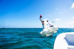 Trash the Vera Wang | Trash the Dress at Turneffe Island Resort | Destination Belize Wedding Photographer | Jose Luis Zapata Photography (31)