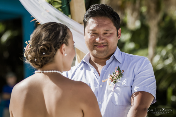 Belize Wedding at Tranquility Bay Resort, Ambergris Caye, Island Beach Wedding (12)