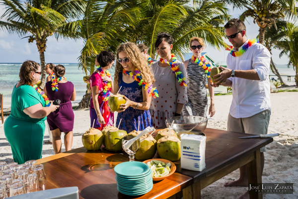 Belize Wedding at Tranquility Bay Resort, Ambergris Caye, Island Beach Wedding (24)