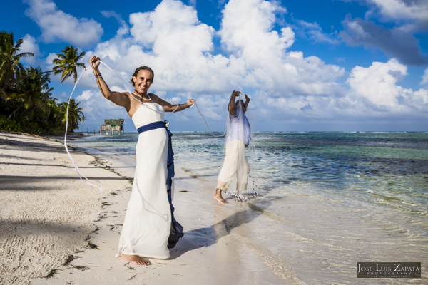 Belize Wedding at Tranquility Bay Resort, Ambergris Caye, Island Beach Wedding (32)