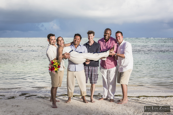 Belize Wedding at Tranquility Bay Resort, Ambergris Caye, Island Beach Wedding (35)