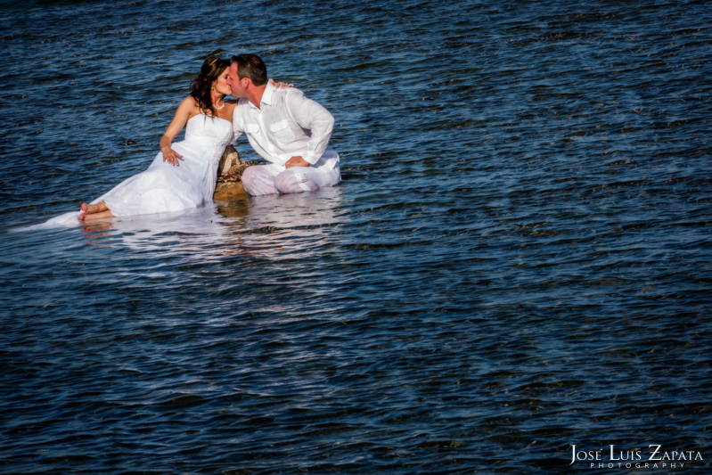 Las Terrazas Beach Wedding Ambergris Caye Belize Photographer
