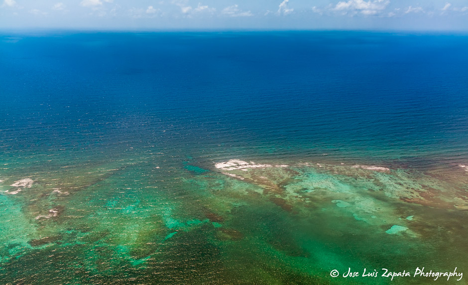 The Mesoamerican Barrier Reef also known as the Great Maya Reef and the largest living reef in the world. Popular for diving.