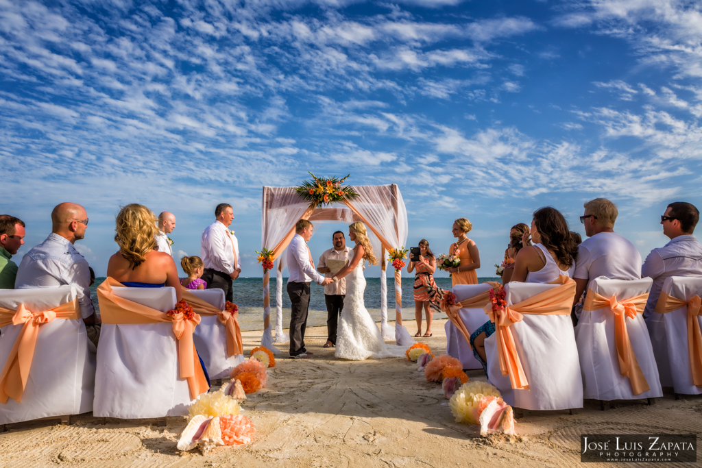 Coco Beach Belize Wedding, Ambergris Caye, Island Weddings