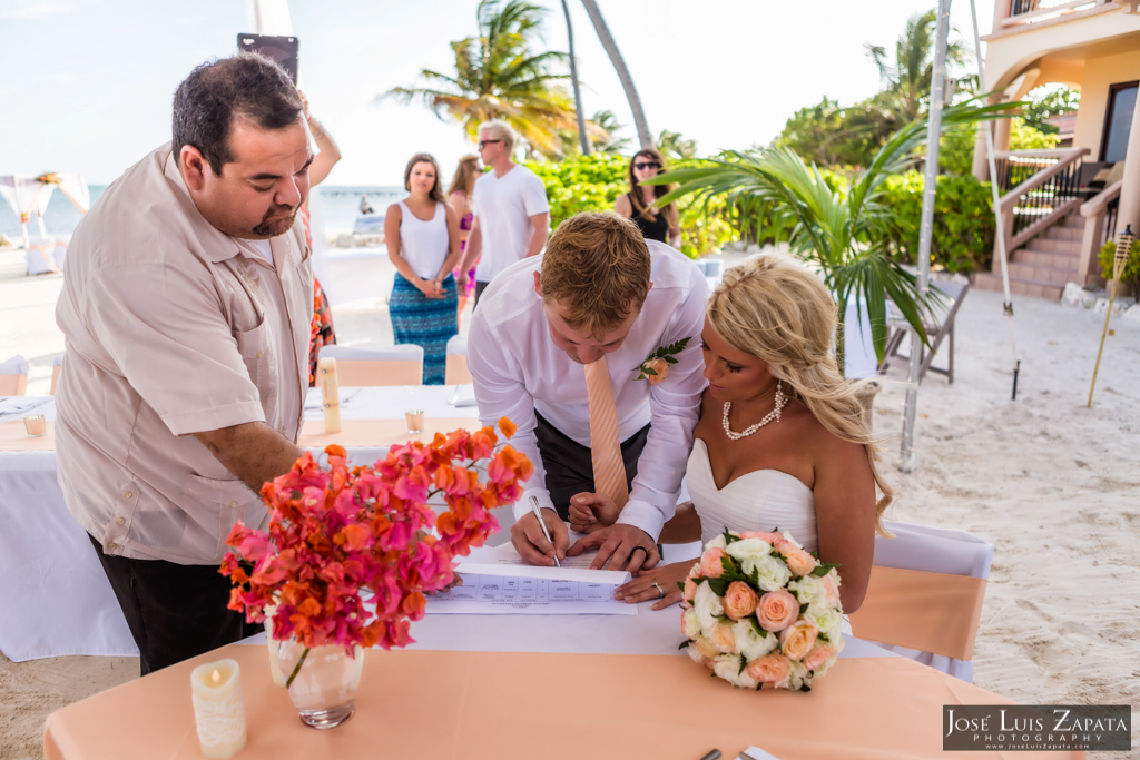 Coco Beach Belize Wedding, Ambergris Caye, Island Weddings (17)