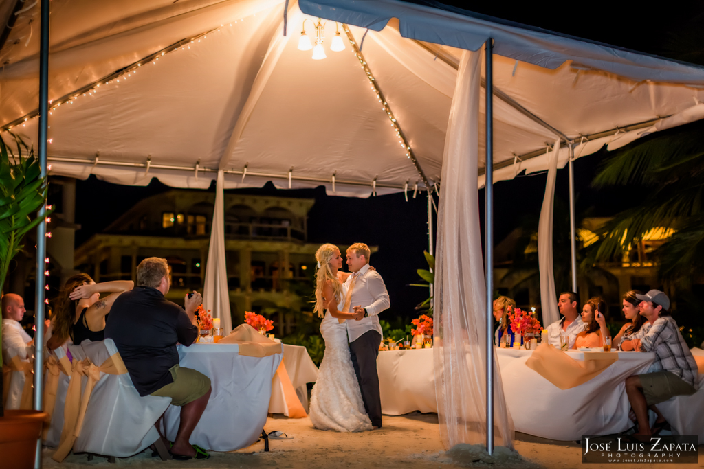 Coco Beach Wedding Belize Ambergris Caye Island Weddings