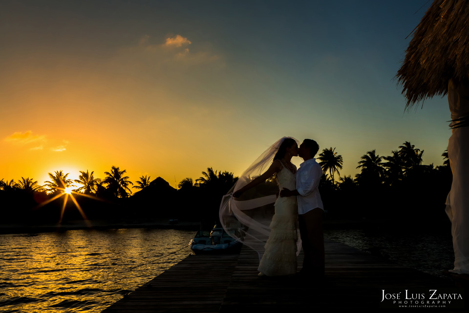 Belize Wedding at El Secreto Resort, Ambergris Caye, San Pedro, Isla Bonita -Best Wedding Locations for 2014 Ambergris Caye, Belize