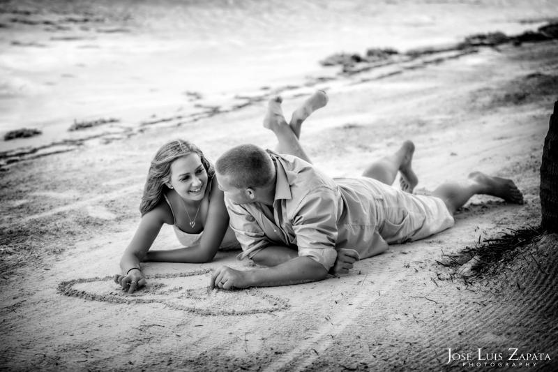 Honeymooner enjoying the beaches in San Pedro, Ambergris Caye, Belize. Luxury Honeymoon Belize Vacations