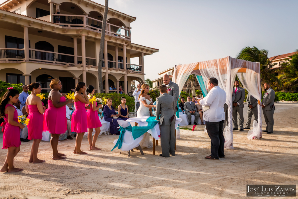 Coco Beach Wedding Photos - Belize Photographer Jose Luis Zapata, Best Wedding Locations for 2014